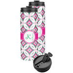 Linked Circles & Diamonds Stainless Steel Skinny Tumbler (Personalized)
