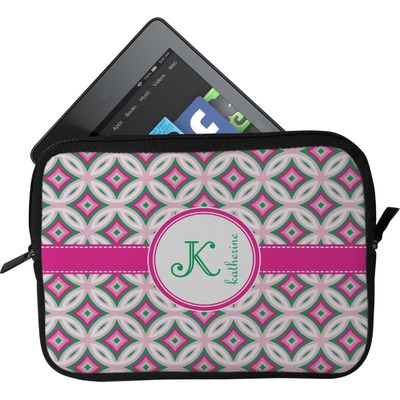 Linked Circles & Diamonds Tablet Case / Sleeve (Personalized)