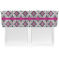 Linked Circles & Diamonds Valance (Personalized)