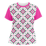 Linked Circles & Diamonds Women's Crew T-Shirt (Personalized)