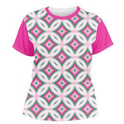 Linked Circles & Diamonds Women's Crew T-Shirt (Personalized)