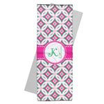 Linked Circles & Diamonds Yoga Mat Towel (Personalized)
