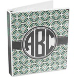Geometric Circles 3-Ring Binder (Personalized)