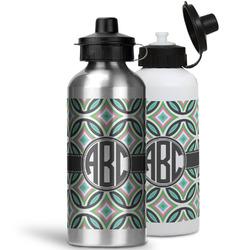 Geometric Circles Water Bottles- Aluminum (Personalized)