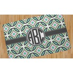 Geometric Circles Area Rug (Personalized)