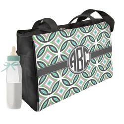 Geometric Circles Diaper Bag (Personalized)