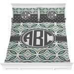 Geometric Circles Comforter Set (Personalized)