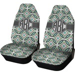 Geometric Circles Car Seat Covers (Set of Two) (Personalized)