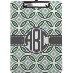 Geometric Circles Clipboard (Personalized)