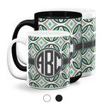 Geometric Circles Coffee Mugs (Personalized)