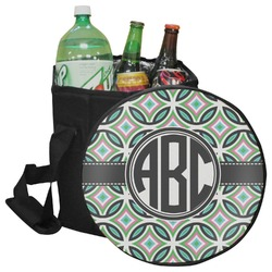 Geometric Circles Collapsible Cooler & Seat (Personalized)