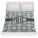Geometric Circles Comforter (Personalized)