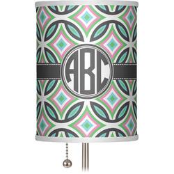"Geometric Circles 7"" Drum Lamp Shade (Personalized)"