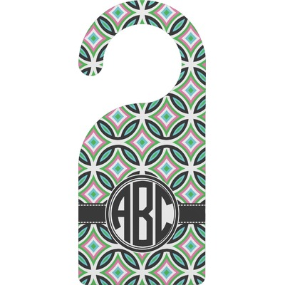 Geometric Circles Door Hanger (Personalized)