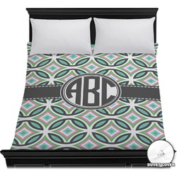 Geometric Circles Duvet Cover (Personalized)
