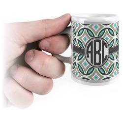 Geometric Circles Espresso Cups (Personalized)