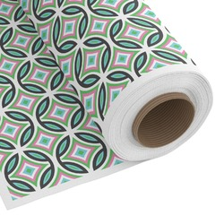Geometric Circles Custom Fabric by the Yard (Personalized)