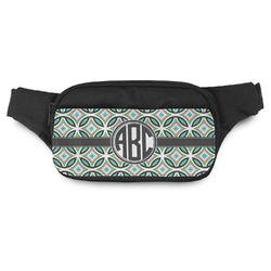 Geometric Circles Fanny Pack (Personalized)