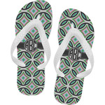 Geometric Circles Flip Flops (Personalized)