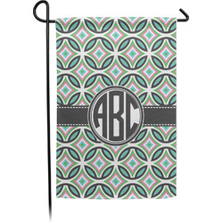 Geometric Circles Garden Flag - Single or Double Sided (Personalized)
