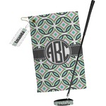 Geometric Circles Golf Towel Gift Set (Personalized)