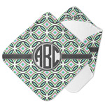 Geometric Circles Hooded Baby Towel (Personalized)