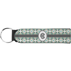 Geometric Circles Keychain Fob (Personalized)