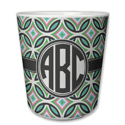 Geometric Circles Plastic Tumbler 6oz (Personalized)