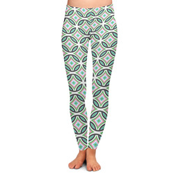Geometric Circles Ladies Leggings (Personalized)