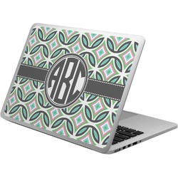 Geometric Circles Laptop Skin - Custom Sized (Personalized)