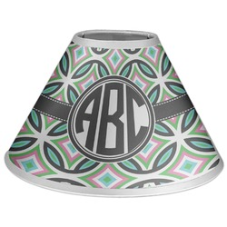 Geometric Circles Coolie Lamp Shade (Personalized)