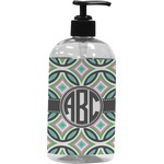 Geometric Circles Plastic Soap / Lotion Dispenser (Personalized)