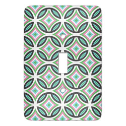 Geometric Circles Light Switch Covers (Personalized)