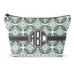 Geometric Circles Makeup Bags (Personalized)