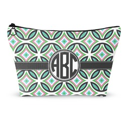 Geometric Circles Makeup Bags (Personalized)