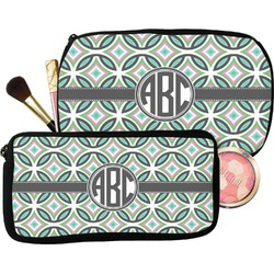 Geometric Circles Makeup / Cosmetic Bag (Personalized)