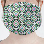 Geometric Circles Face Mask Cover (Personalized)