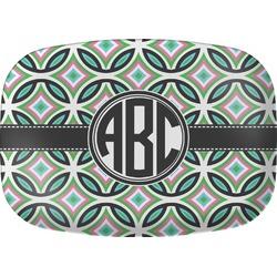 Geometric Circles Melamine Platter (Personalized)