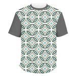 Geometric Circles Men's Crew T-Shirt (Personalized)