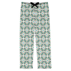 Geometric Circles Mens Pajama Pants (Personalized)