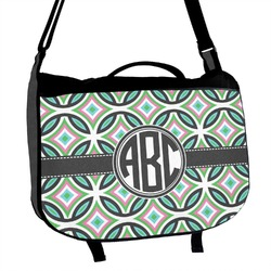 Geometric Circles Messenger Bag (Personalized)
