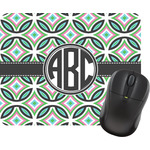 Geometric Circles Mouse Pad (Personalized)