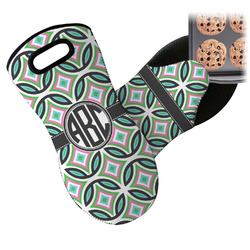 Geometric Circles Neoprene Oven Mitt (Personalized)