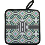 Geometric Circles Pot Holder (Personalized)