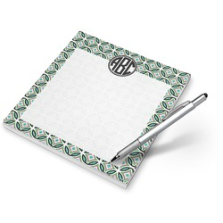 Geometric Circles Notepad (Personalized)