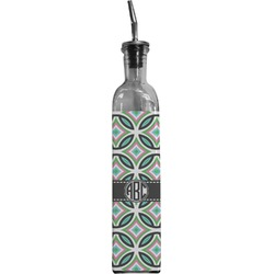 Geometric Circles Oil Dispenser Bottle (Personalized)