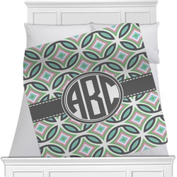 Geometric Circles Blanket (Personalized)