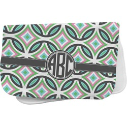 Geometric Circles Burp Cloth (Personalized)