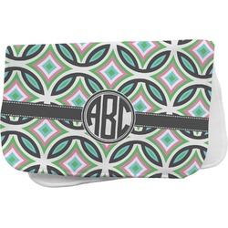 Geometric Circles Burp Cloth (Personalized)