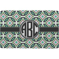 Geometric Circles Comfort Mat (Personalized)
